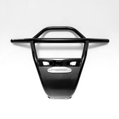 Black UTV Steel Front Bumper