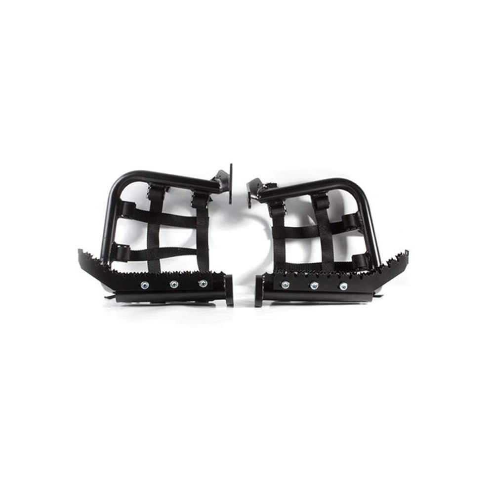 Black 6061 TIG Welded Aluminum Tubing Heel Guards