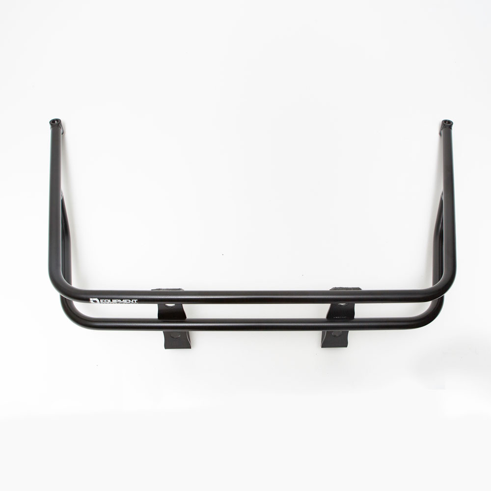 Black Cargo Carrier Rear Rack