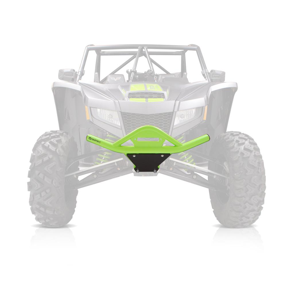 Front HD Zombie Green Bumper