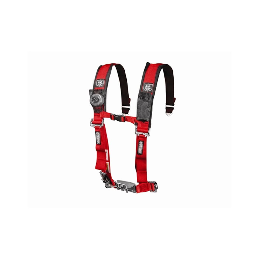 Red 5 Point Harness with 2