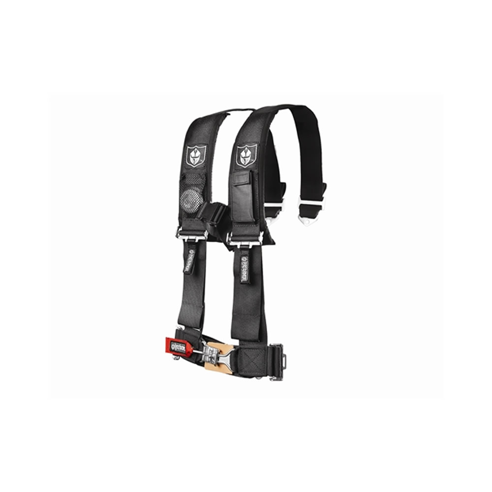 Black 5 Point Harness with 3