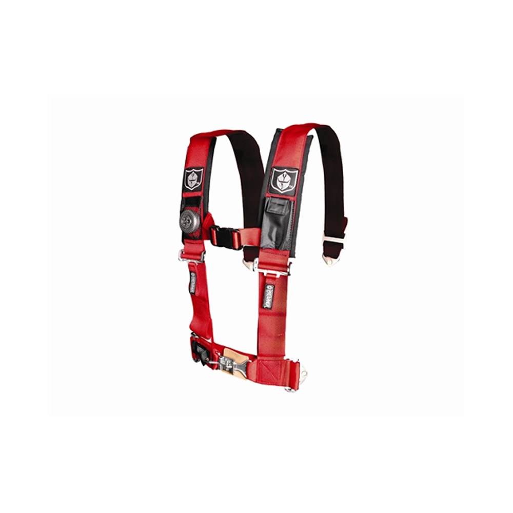 Red 5 Point Harness with 3