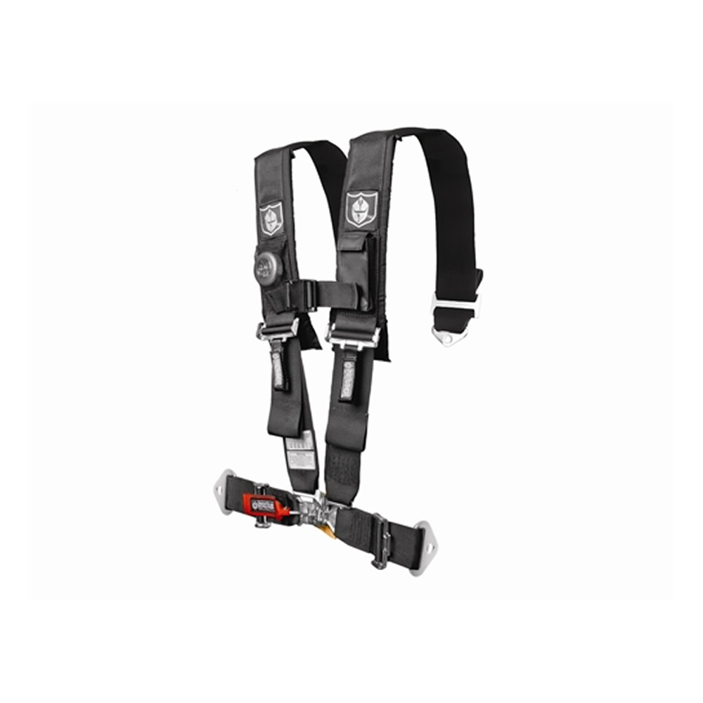 Black SFI Approved 5 Point Harness with 3
