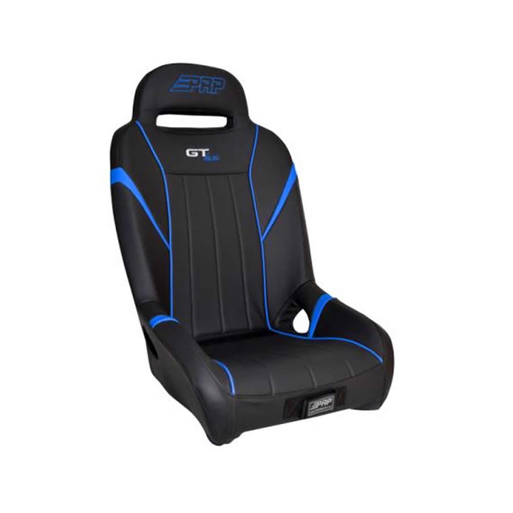 Black & Blue Rear Bucket Suspension Seat