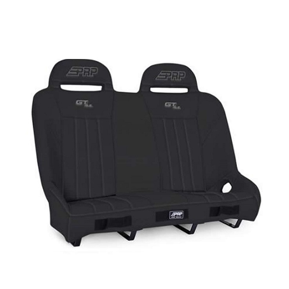 Black & Black Rear Suspension Bench Seat