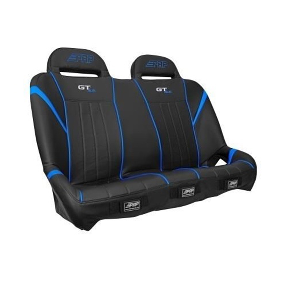 Black & Blue Rear Suspension Bench Seat
