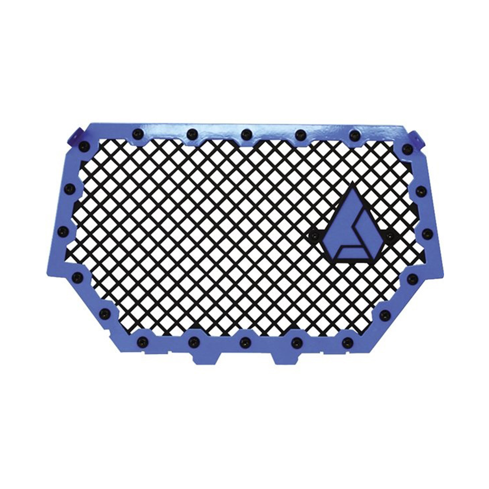 Blue High Strength Aluminum and Steel Front Grill