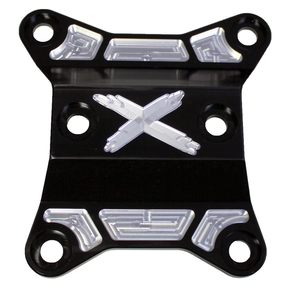 Black Rear Differential Plate