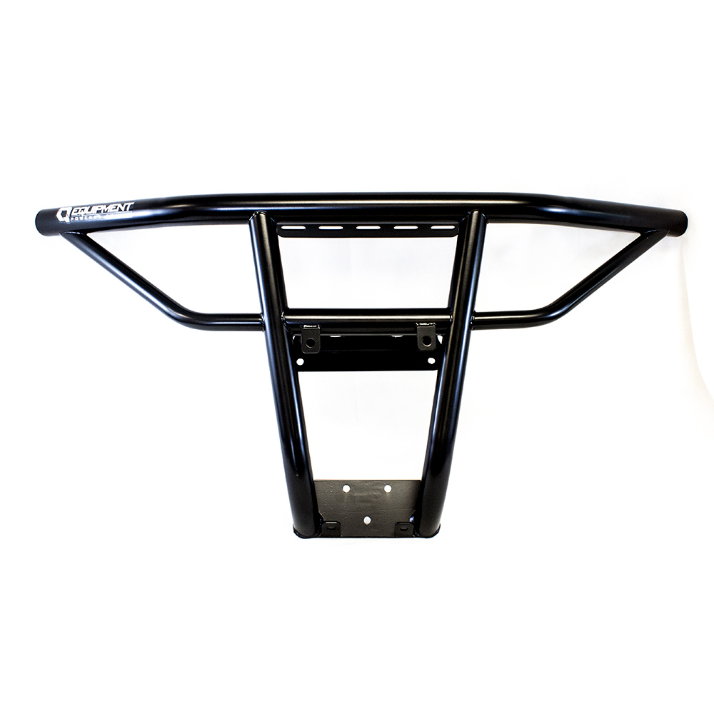 Black Steel Front Bumper without Skid Plate