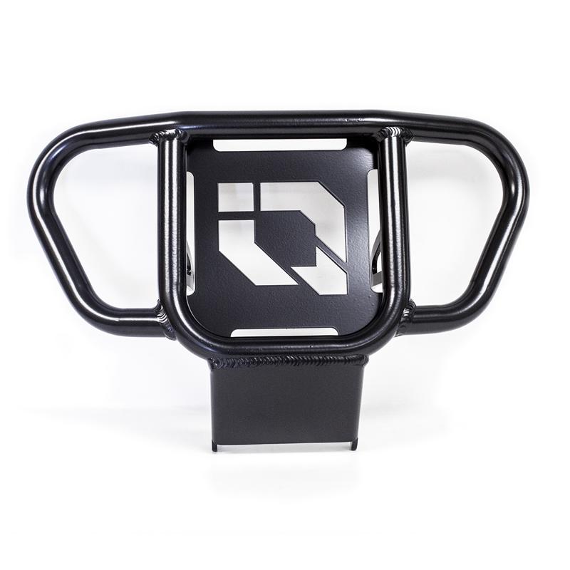 Black Heavy-Duty Steel Front Bumper