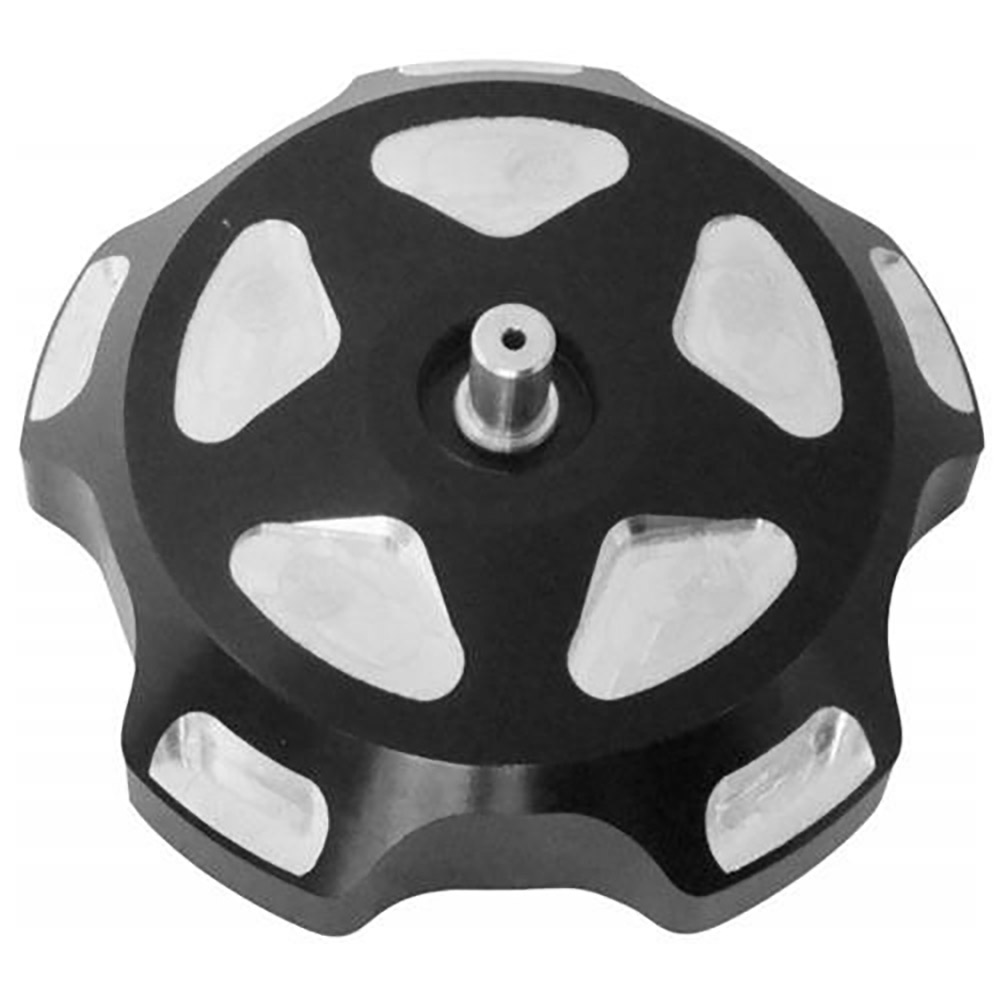 Black Pockets Anodized Gas Cap with Breather Valves