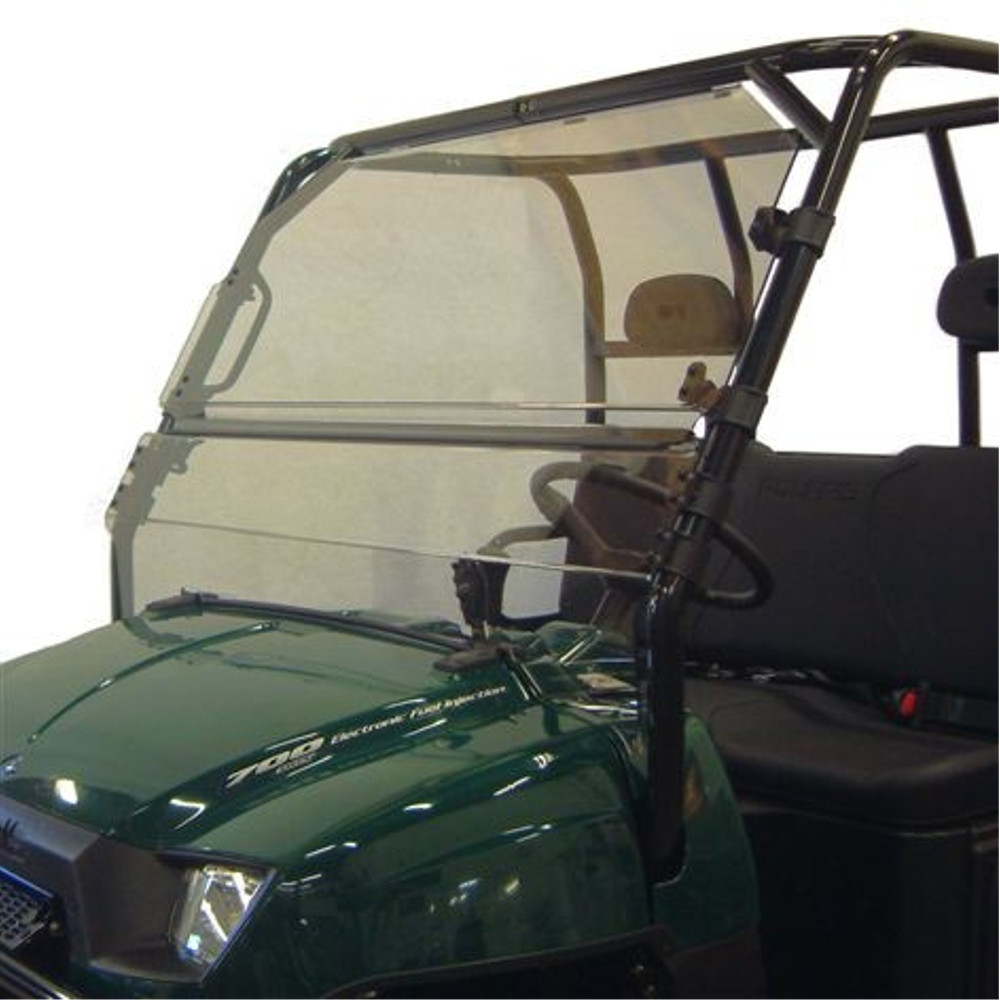 Full-Tilting Windshield with Scratch Resistant Hard Coating