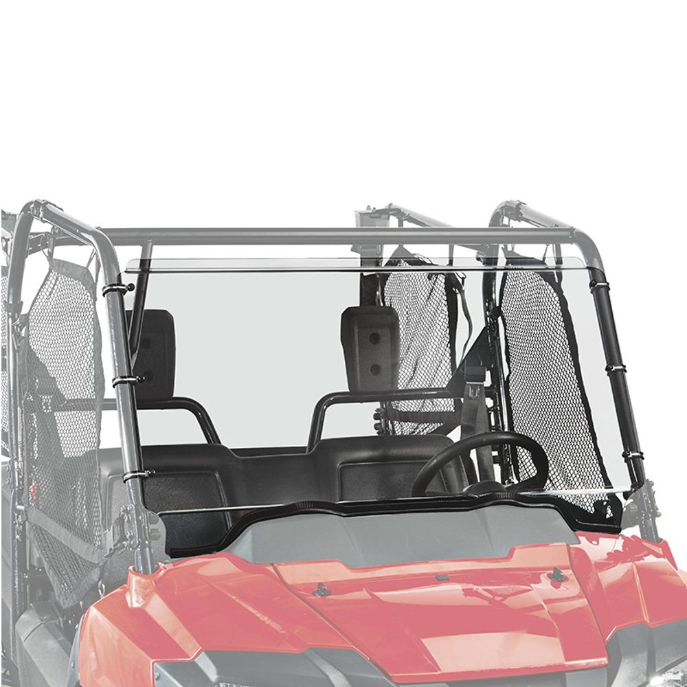 Full Fixed Windshield with Scratch Resistant Hard Coating