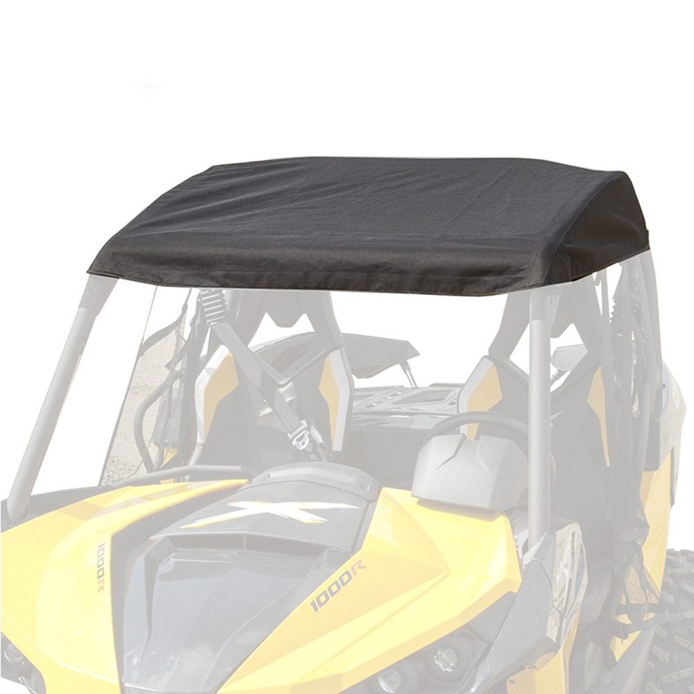 Black 600 Denier Nylon Bimini Top