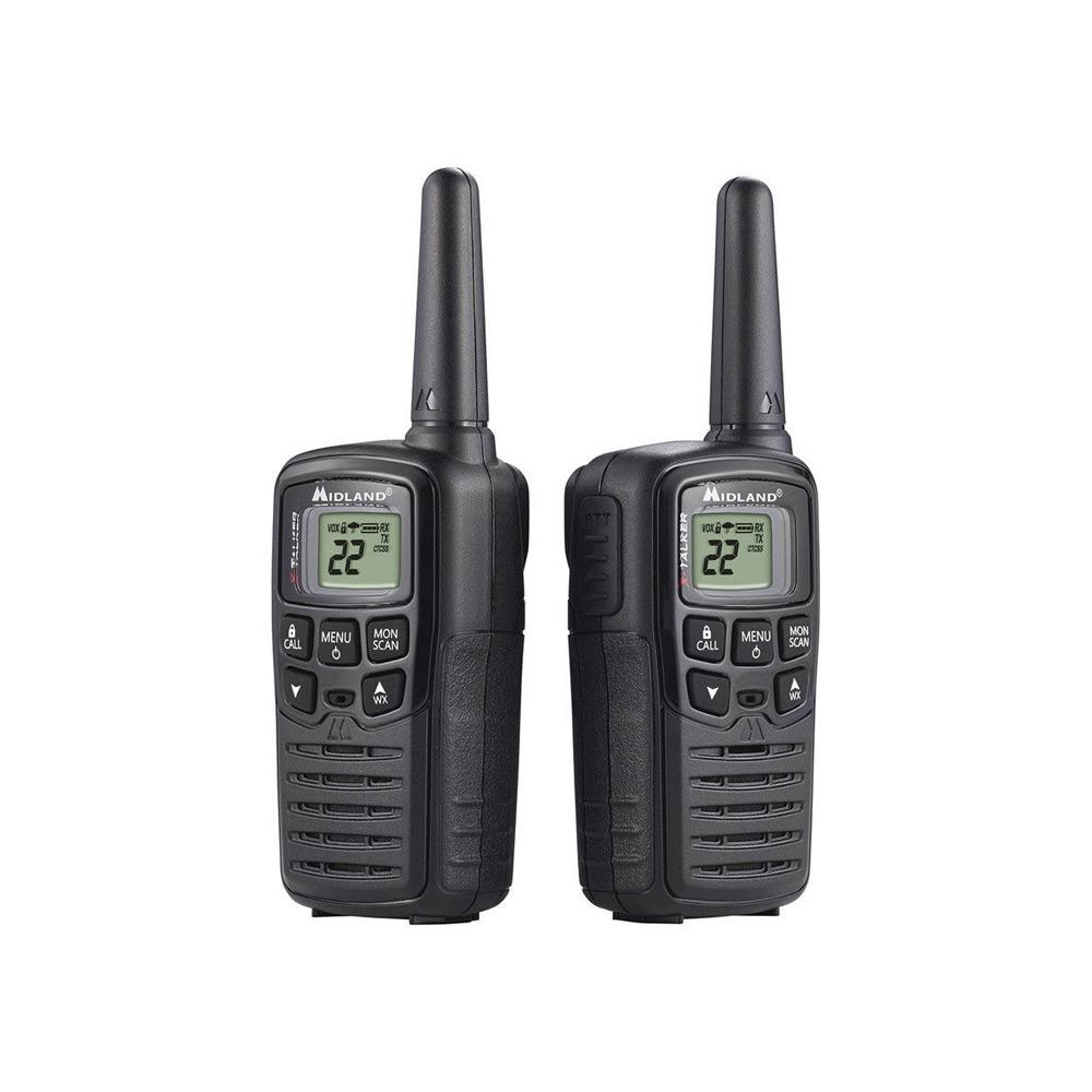 20 Mile Black Two-way Radios
