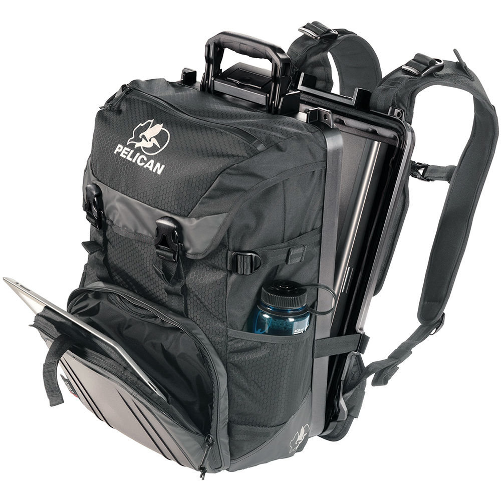 Black Sport Top-Loader Backpack