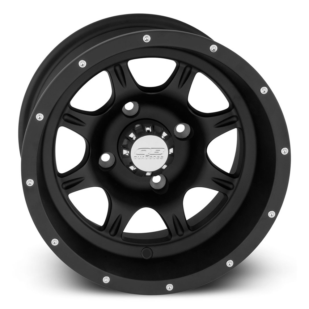 12x7|4x110|2+5 Matte Black Wheel