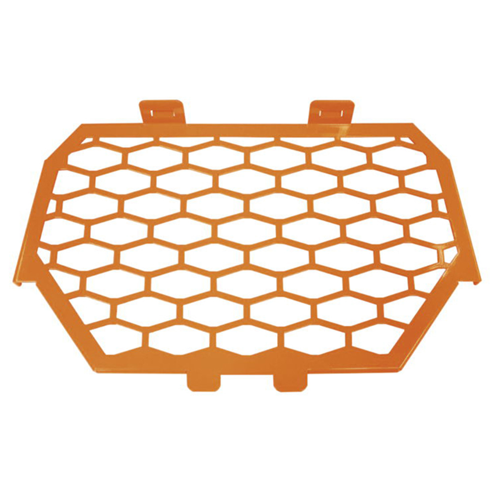 Orange Stainless Steel Front Grill