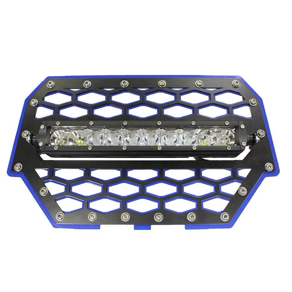 Blue Front Grill with 10