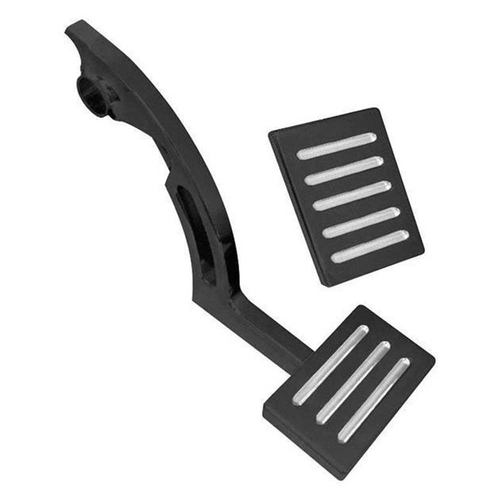Anodized BlackAluminum Gas & Brake Pedal Set