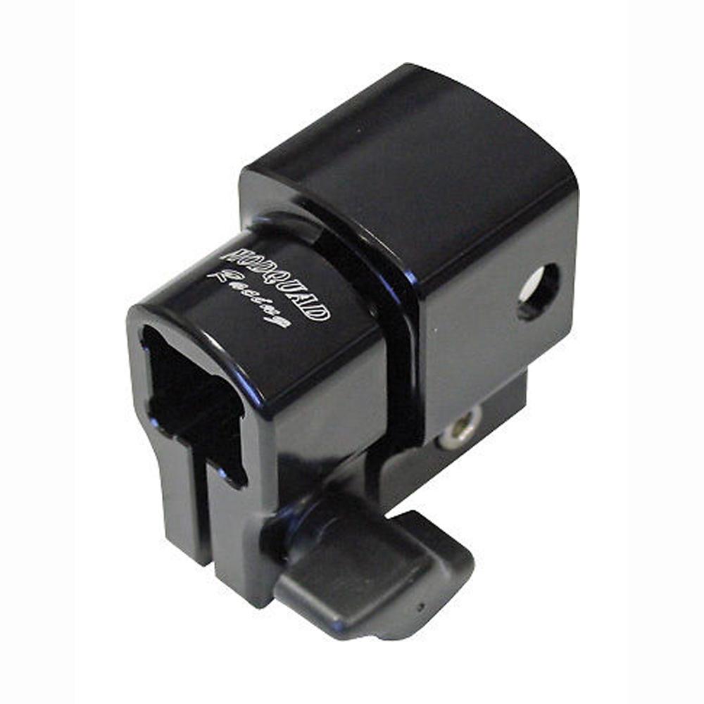 Black Billet Aluminum Grab Handle Anti-Rattle Lock