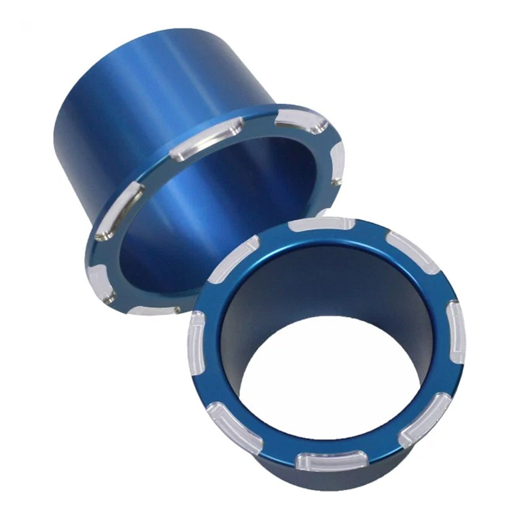 Blue Anodized Billet Cup Holders (2)
