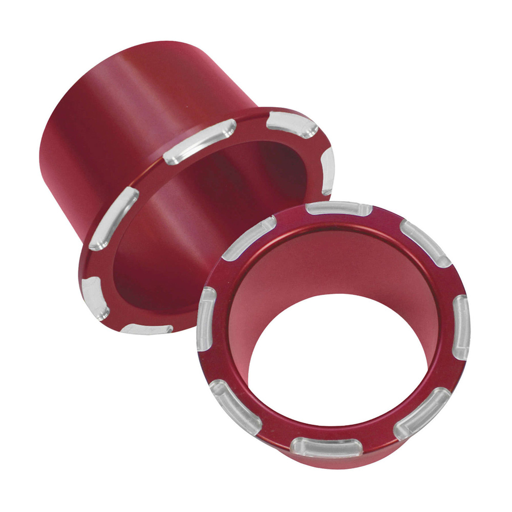 Red Anodized Billet Cup Holders (2)