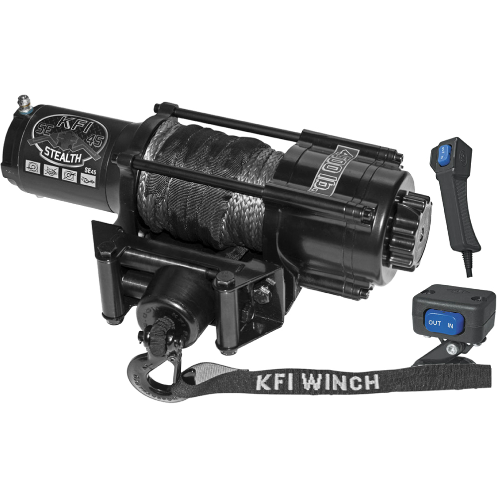 4500 LB Capacity Winch with 50' Synthetic Cable
