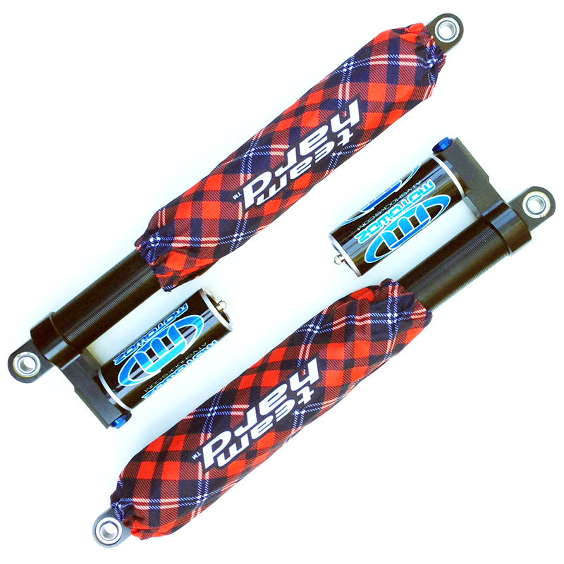 Plaid Red Shock Covers