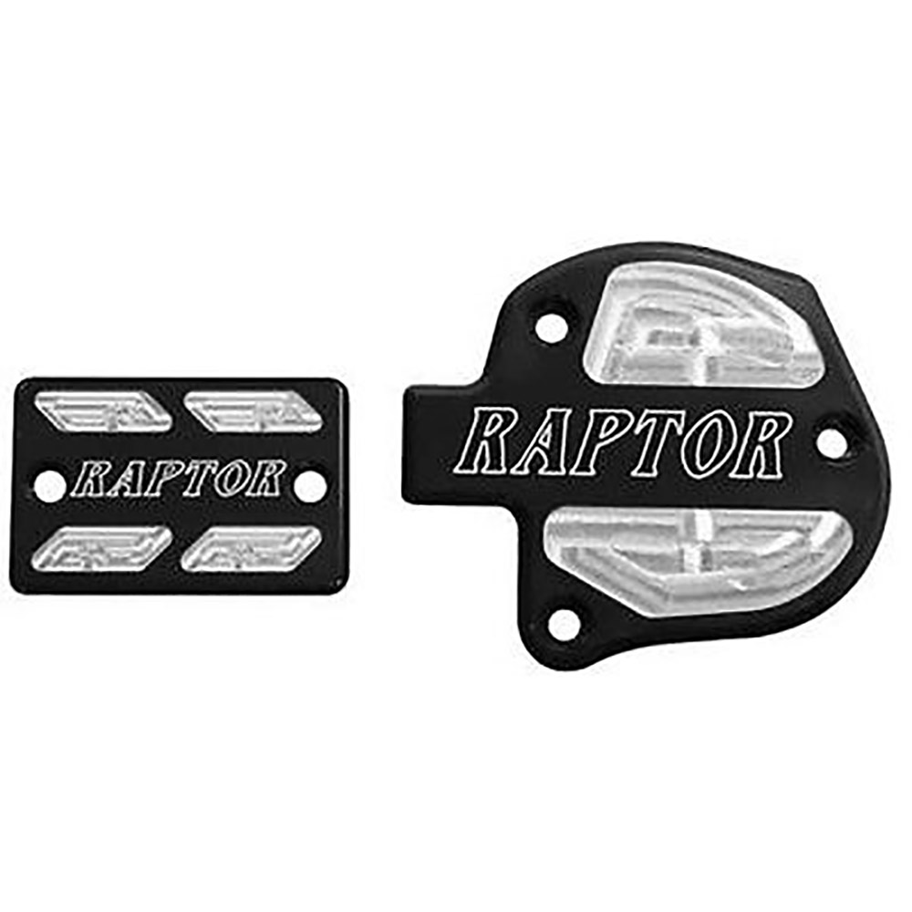 Black Brake and Throttle Cover Set
