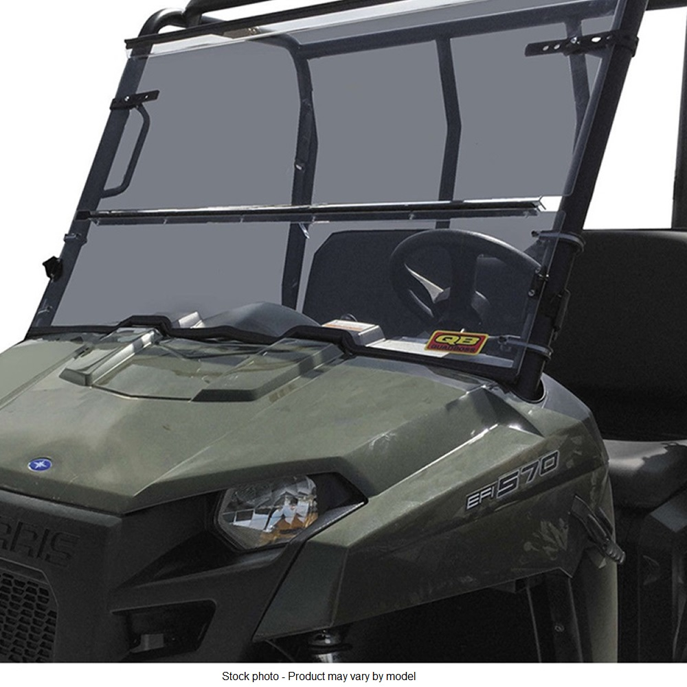 Thick Polycarbonate Folding Windshield