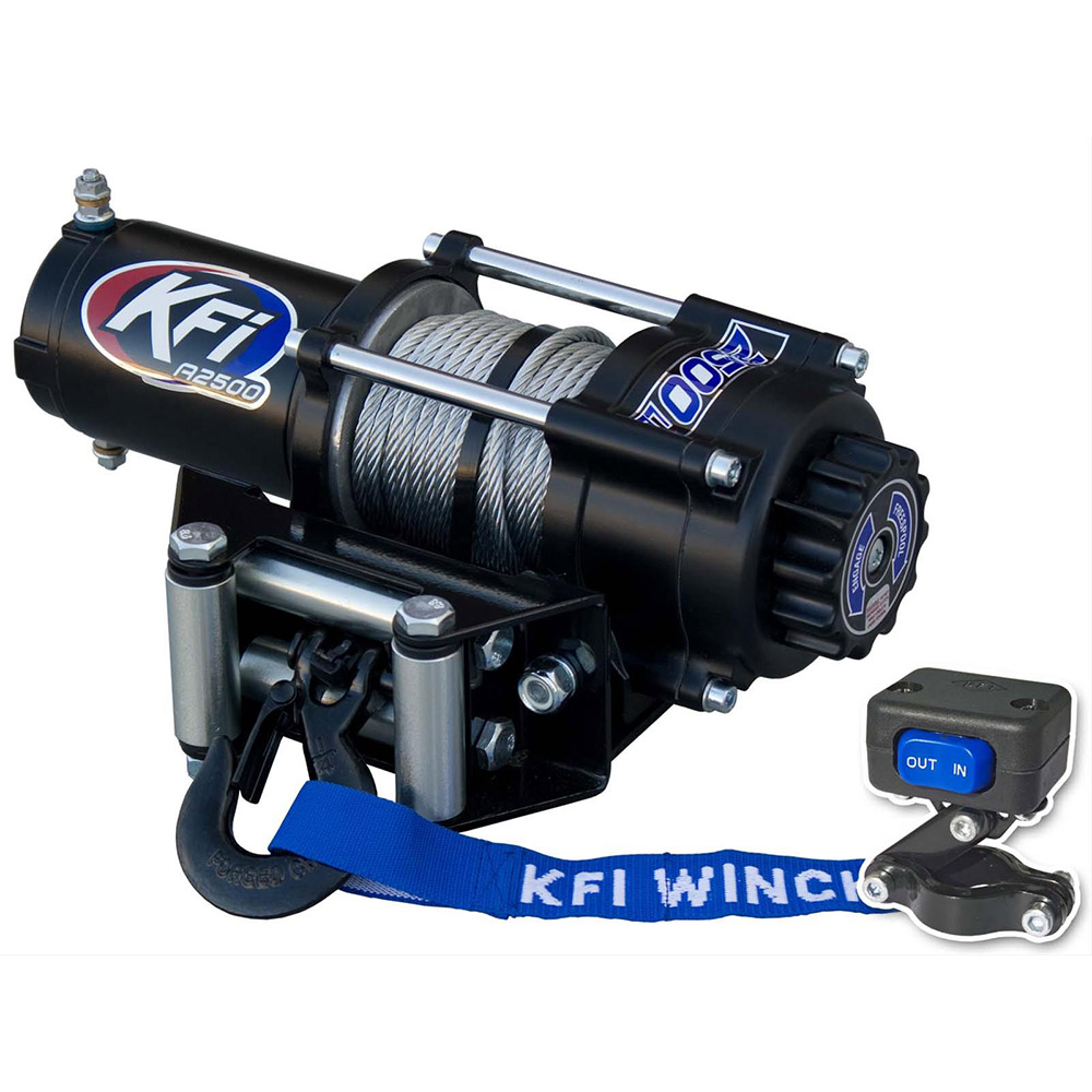 4500LBS Standard Winch with Dash Rocker Switch