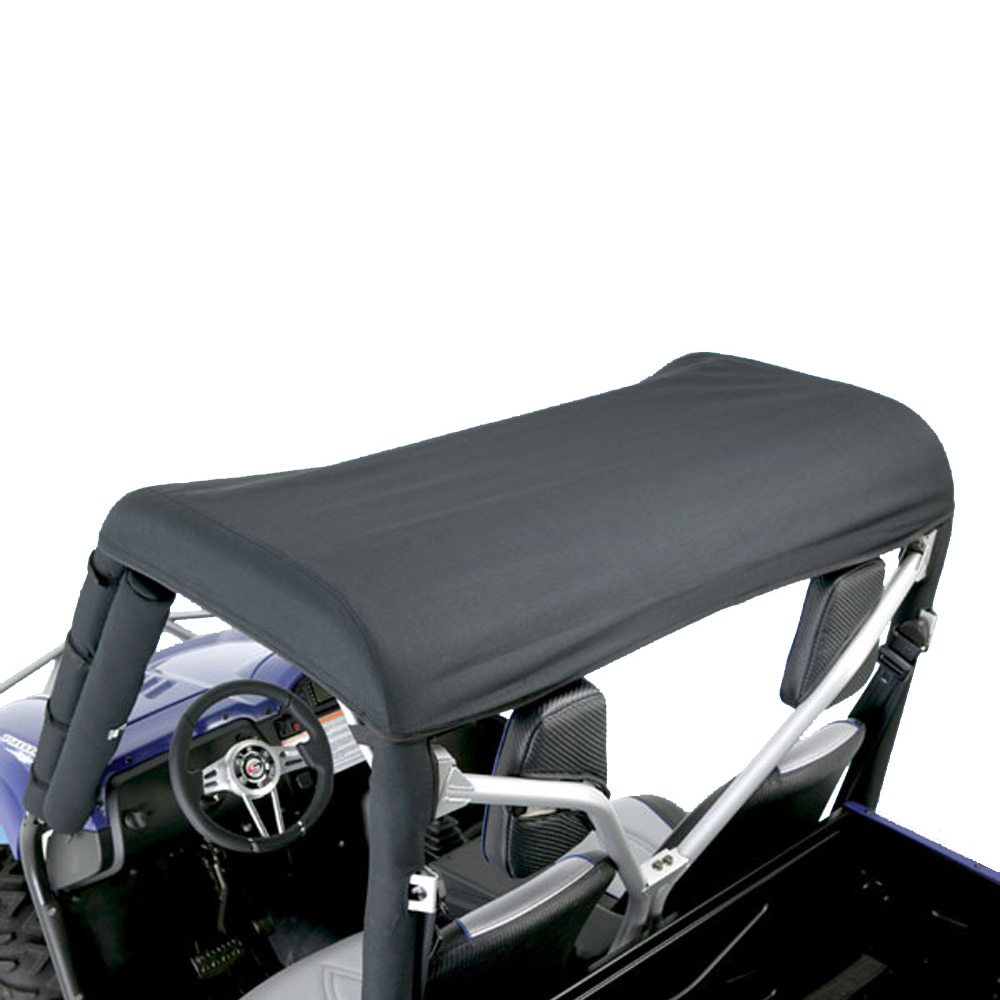 Denim Black Nylon Solid Brief Top