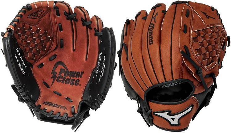 Youth Baseball Glove Leather : Mizuno gpp y quot prospect series youth leather