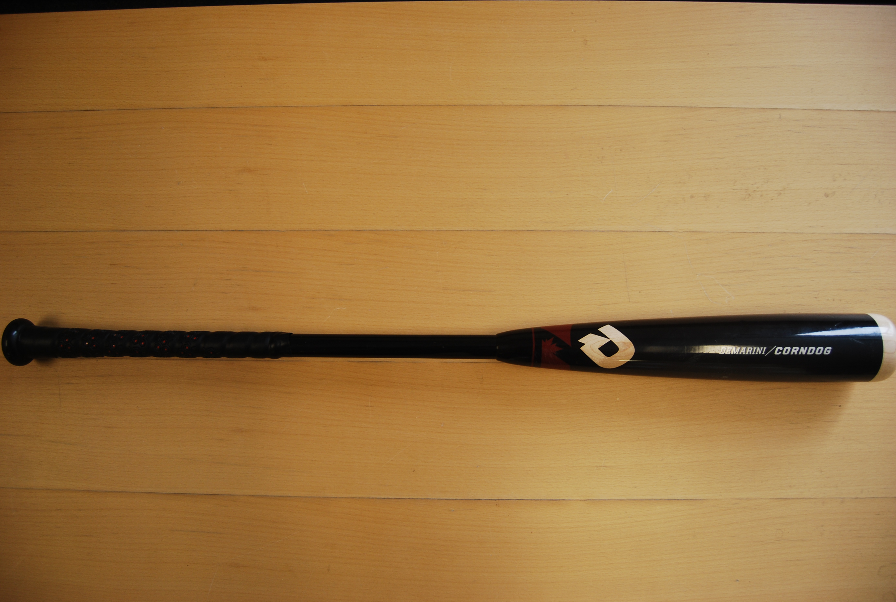 Details about GRS-205 DeMarini WTDXCDA 32/29 Wood Composite Corndog BBCOR  Baseball Bat Used
