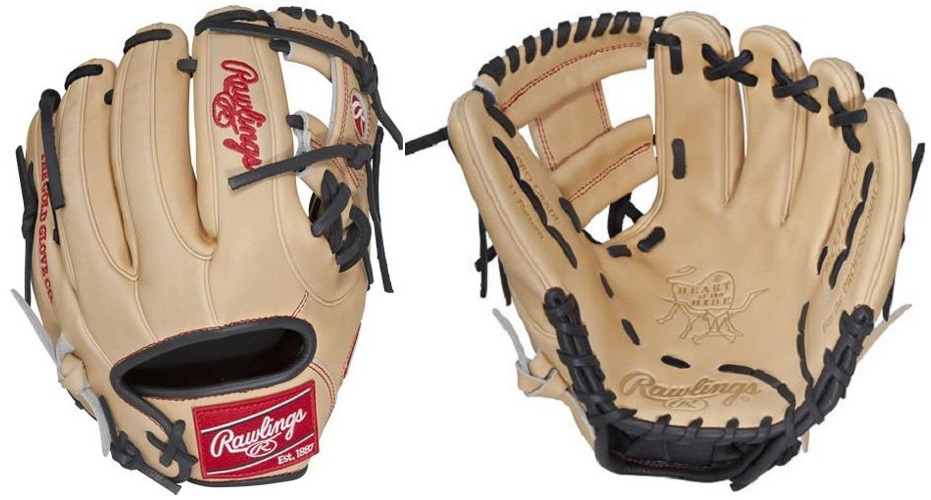 Rawlings Camel/Black 11.25 Heart Of The Hide Narrow ...