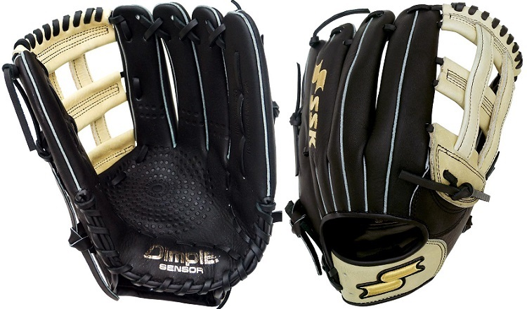 LHT Lefty SSK S162002HL 12.75 Select Professional Series Baseball Glove Outfield