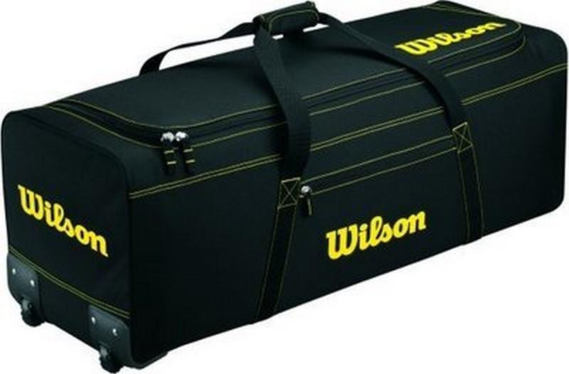 Wilson Wta9716 Black Catchers Wheeled Equipment Bag