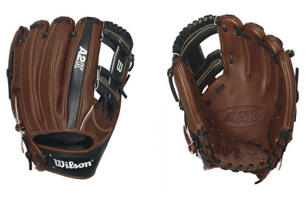 Composite Bats Wilson WTA2KRB161787 RHT A2K 1787 Professional Baseball Infield Glove/Mitt 11.75