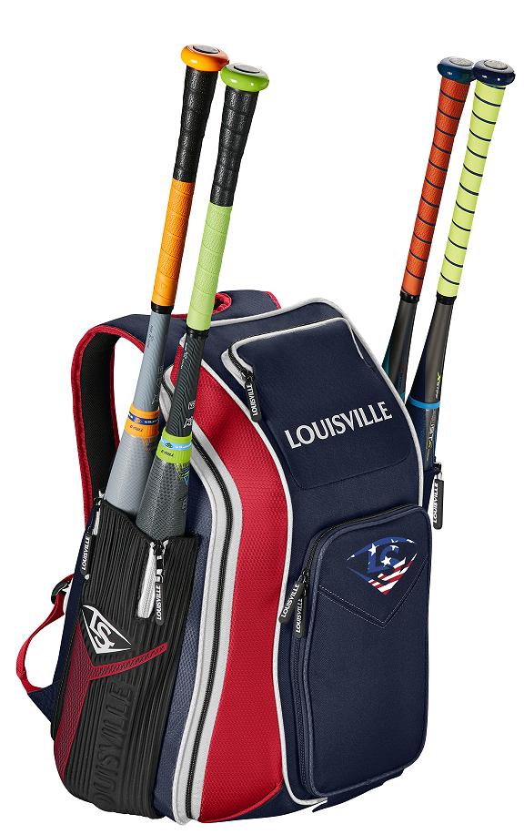 2019 Louisville Slugger WTL9902 Navy Red America Prime Stick Pack Backpack New