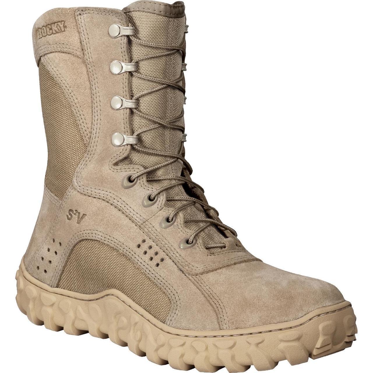 Rocky S2v Vented Military Duty Boots 14 Regular Ebay