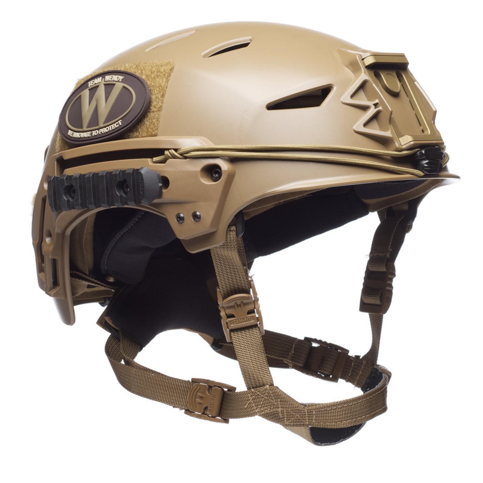 Helmet Bungee Cargo System for Tactical Bump Helmet Team Wendy EXFIL, etc.