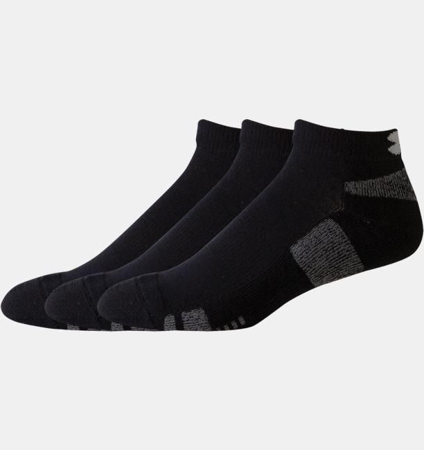 1a93718f4 Details about Under Armour Men's HeatGear Low Cut 3-Pack Socks