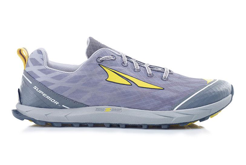 Altra Superior   Men S Shoes Silver Yellow