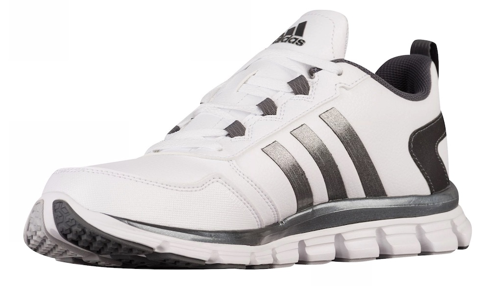 uk availability f45d9 b7a40 Adidas Speed Trainer 2 Shoes, White Carbon Metallic, 4.5 Regular