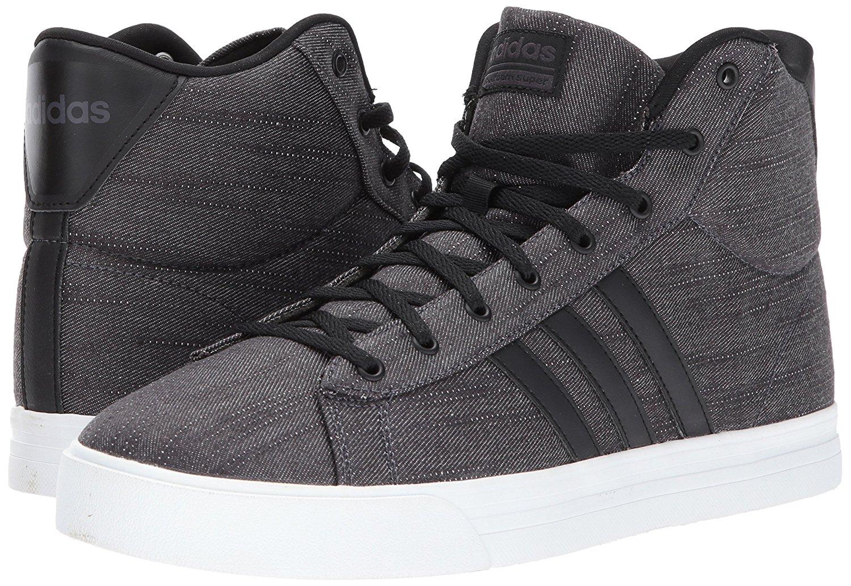 9bc75b2e9cd0 Details about Adidas BB9924 Men s Cloudfoam Super Daily Core Black Utility Black  Mid Sneakers