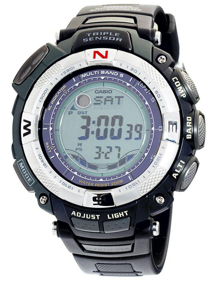 Casio PAW1500-1V Atomic Solar Pathfinder Watch   eBay