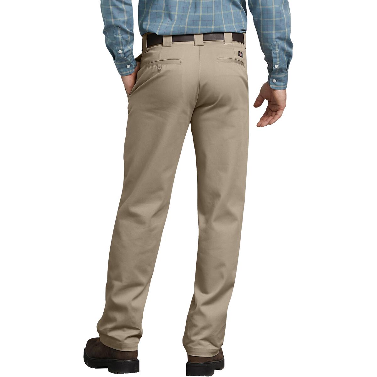 thumbnail 5 - Dickies FLEX Tough Max Regular Fit Straight Leg Twill Work Pants Desert Khaki