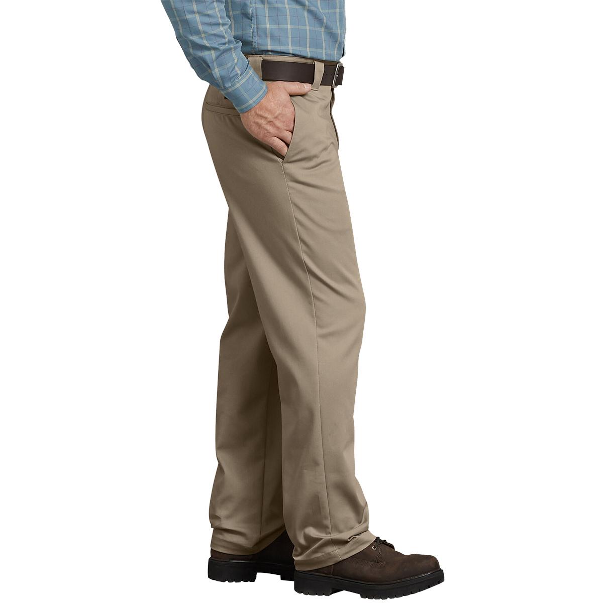 thumbnail 6 - Dickies FLEX Tough Max Regular Fit Straight Leg Twill Work Pants Desert Khaki